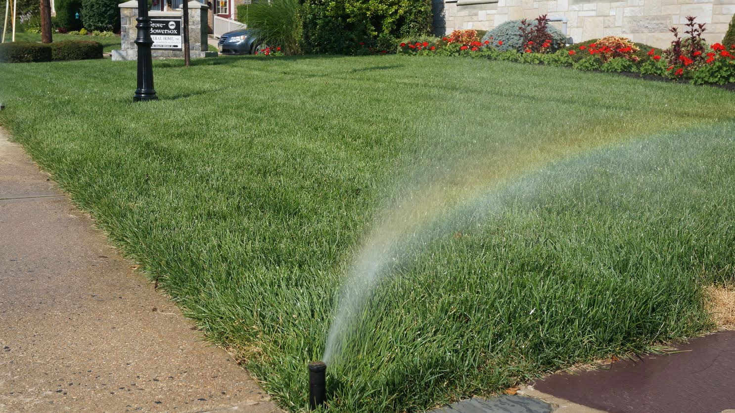 Residential TruPrecision Lawncare - Home irrigation design